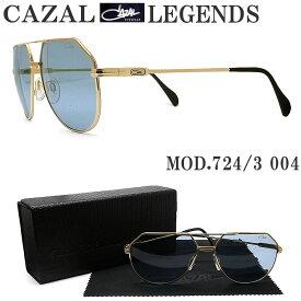 CAZAL LEGENDS カザールレジェンズ 724/3 004 サングラス ゴールド メンズ 男性 ドイツ製 ヴィンテージ ストリート ファッション