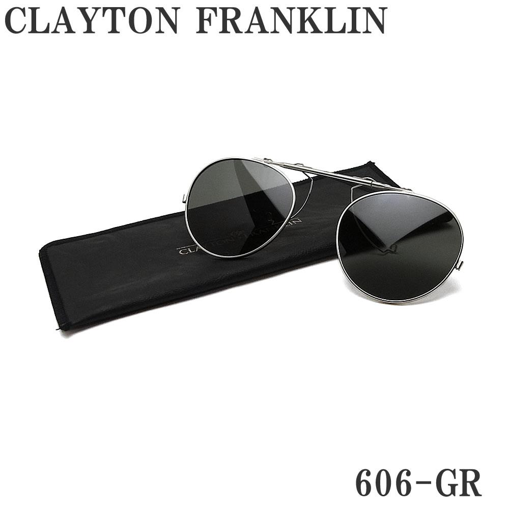 CLAYTON FRANKLIN クレイトン フランクリン 606-GR 606用クリップオン