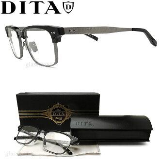 DITA eyewear DITA DRX-2064-A-BLK-SLV size 55 Megane classic date with glasses black mens glasspapa