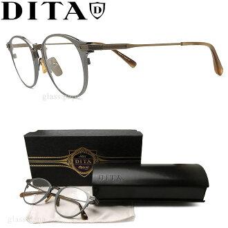 ditamegane DITA DRX-2078-C-SLV眼镜古典没镜片的眼镜度从属于的复古的灰色人glasspapa
