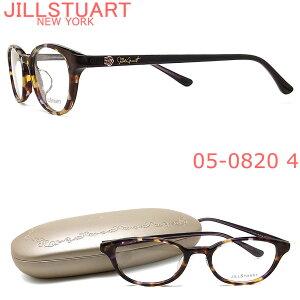 JILLSTUART ジルスチュアート メガネ フレーム 05-0820 4 眼鏡 ブラウン×パープル ブランド 伊達メガネ 度付き レディース 女性