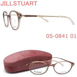 JILLSTUART ジルスチュアート メガネ フレーム 05-0841 01 眼鏡 ピンクベージュ×ライトゴールド 伊達メガネ 度付き レディース 女性