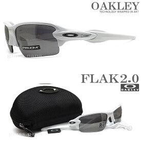 OAKLEY オークリー サングラス フラック2.0 アジアンフィット 009271-2461 [FLAK 2.0 ASIAN FIT PRIZM BLACK POLARIZED 偏光レンズ] Polished White