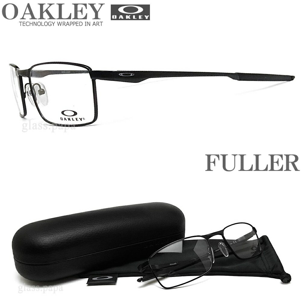 OAKLEY オークリー メガネフレーム OX3227-0153 サイズ53 FULLER フラー 眼鏡 スポーツ 伊達メガネ 度付き Satin Black メンズ・レディース