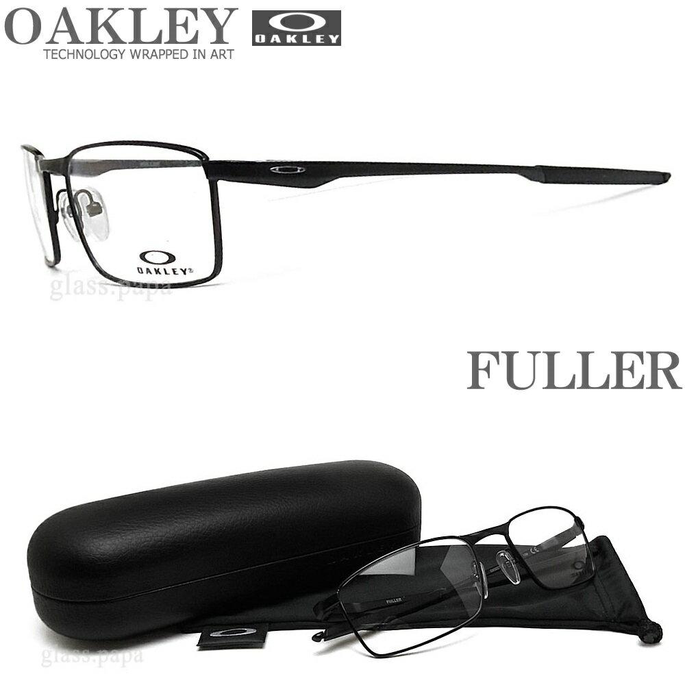 OAKLEY オークリー メガネフレーム OX3227-0155 サイズ55 FULLER フラー 眼鏡 スポーツ 伊達メガネ 度付き Satin Black メンズ・レディース