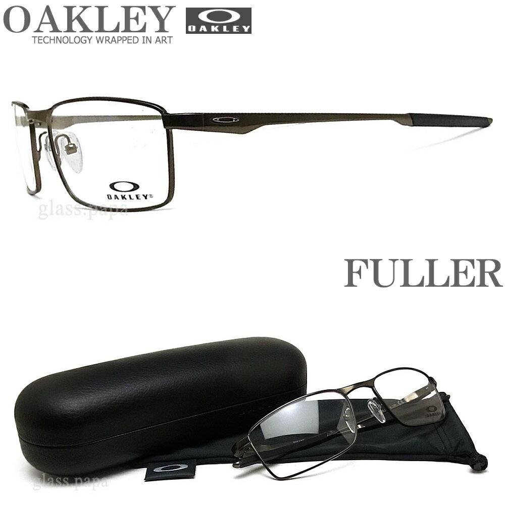 OAKLEY オークリー メガネフレーム OX3227-0255 サイズ55 FULLER フラー 眼鏡 スポーツ 伊達メガネ 度付き Pewter メンズ・レディース