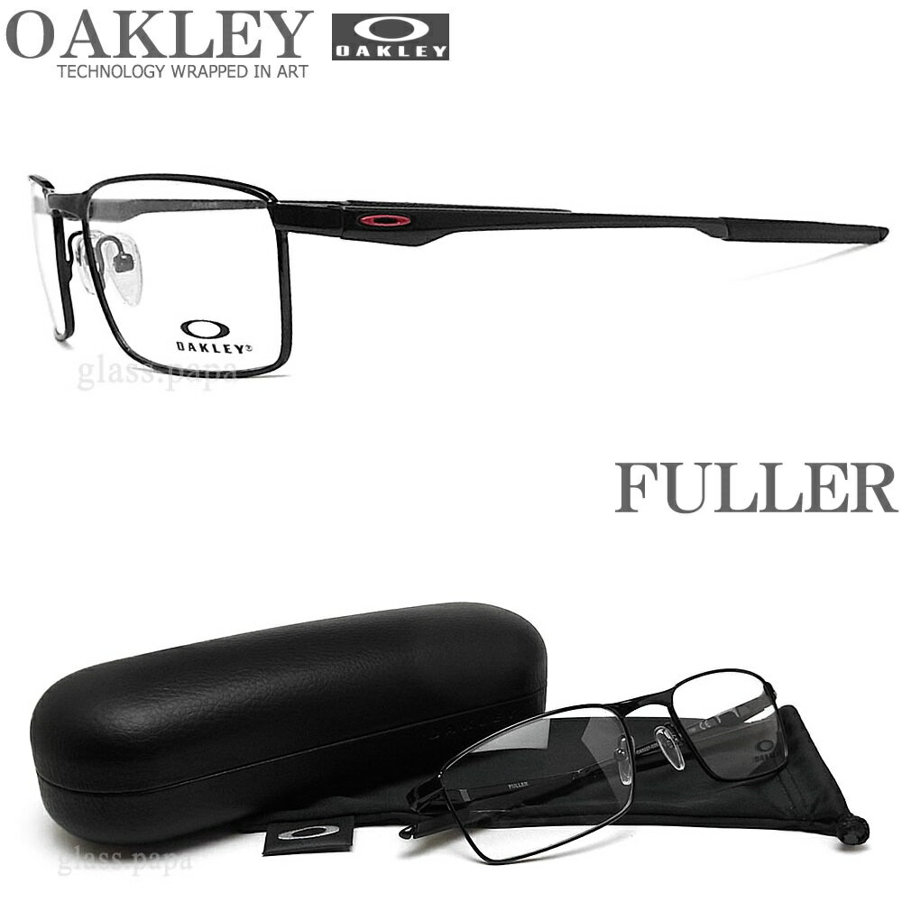 OAKLEY オークリー メガネフレーム OX3227-0353 サイズ53 FULLER フラー 眼鏡 スポーツ 伊達メガネ 度付き Polished Black メンズ・レディース