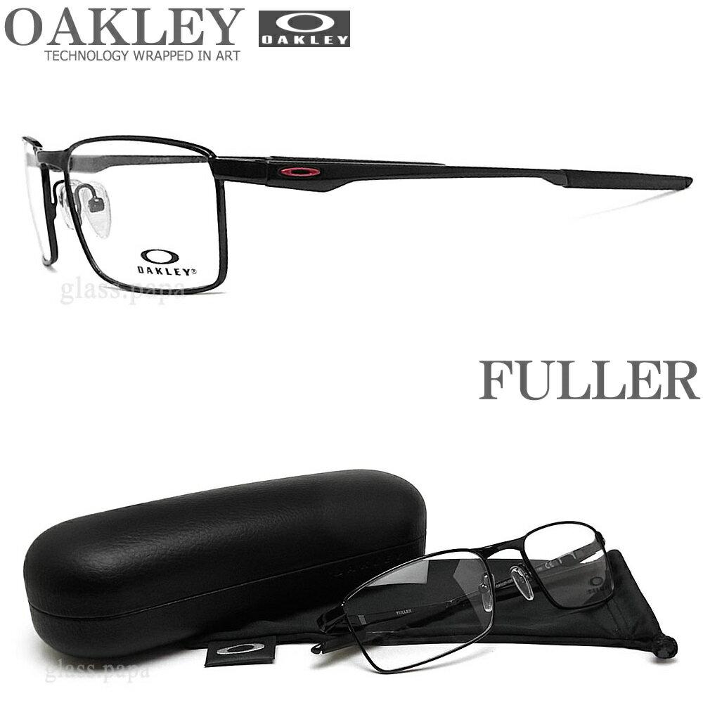 OAKLEY オークリー メガネフレーム OX3227-0355 サイズ55 FULLER フラー 眼鏡 スポーツ 伊達メガネ 度付き Polished Black メンズ・レディース