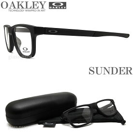 OAKLEY オークリー メガネフレーム OX8123-0153 SUNDER サンダー (サイズ53) 眼鏡 ブランド スポーツ 伊達メガネ 度付き Satin Black メンズ・レディース