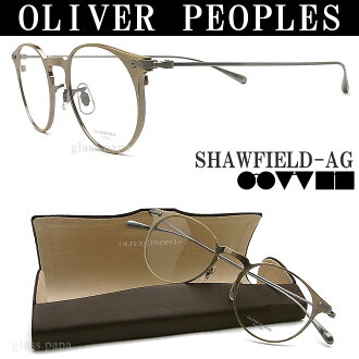 Antique gold classic ITA Oliver Peoples eyewear OLIVER PEOPLES SHAWFIELD-AG glasses with glasses mens and Womens glasspapa