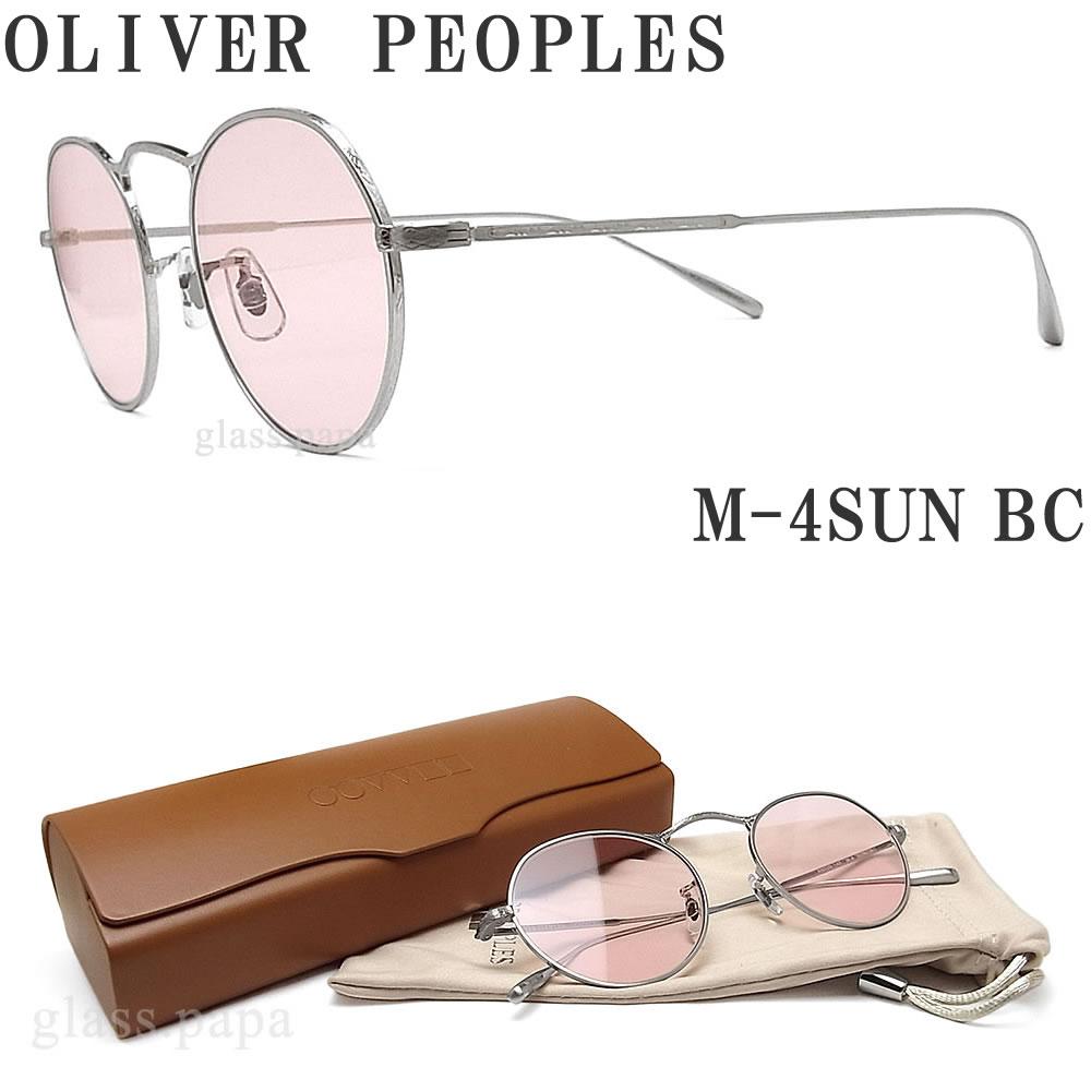 OLIVER PEOPLES オリバーピープルズ サングラス 調光レンズ M-4SUN BC マットシルバー メンズ・レディース オリバー