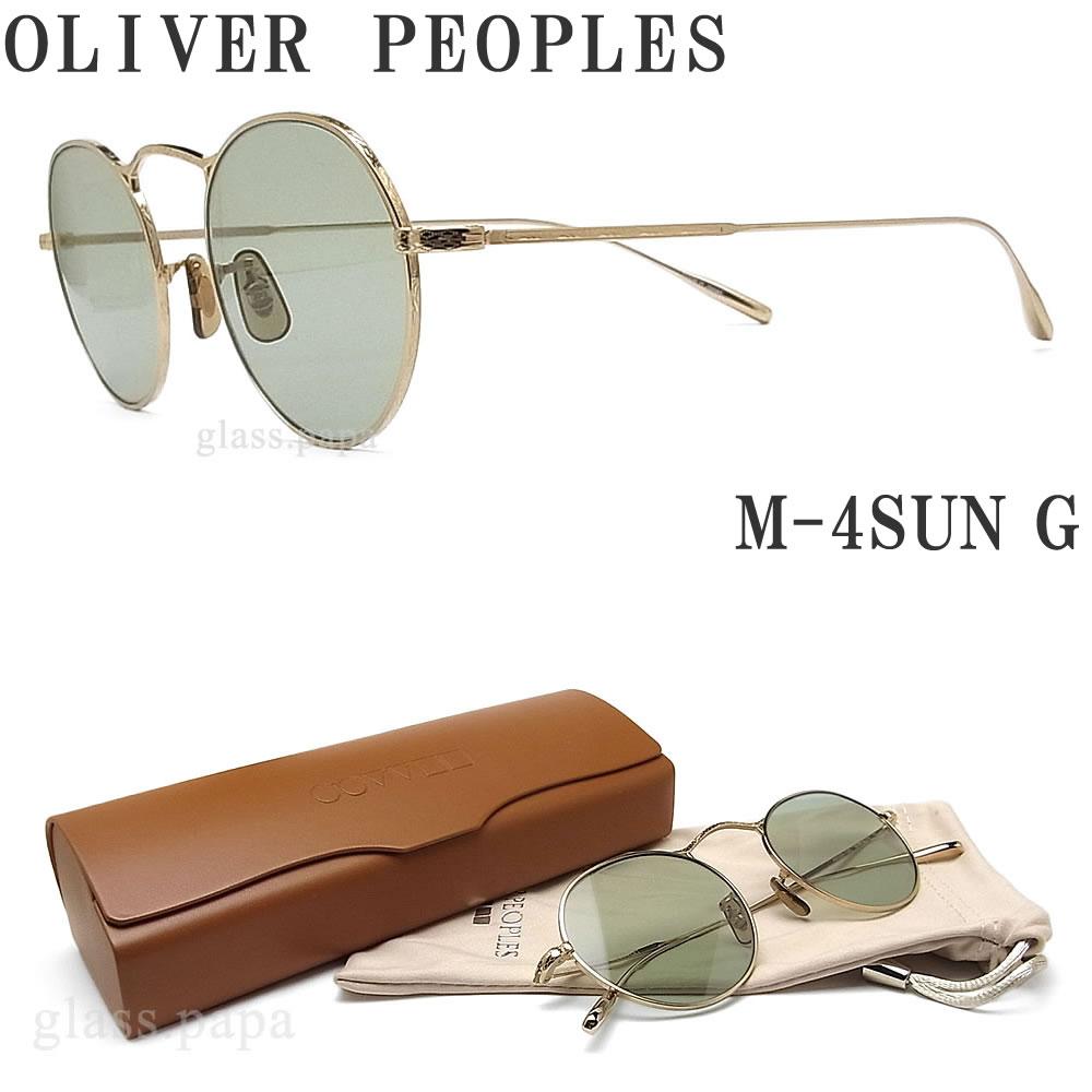 OLIVER PEOPLES オリバーピープルズ サングラス M-4SUN G ゴールド メンズ・レディース オリバー