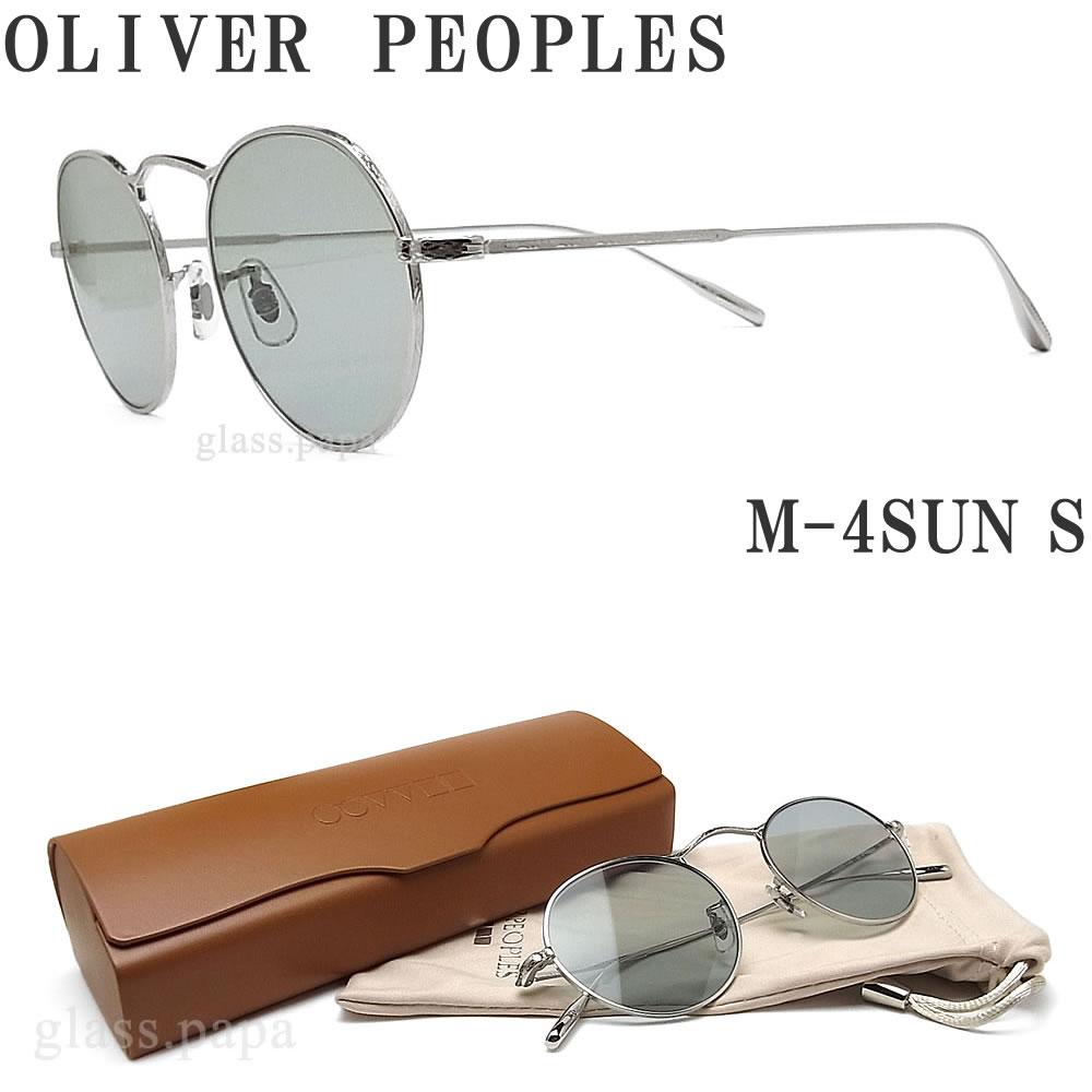 OLIVER PEOPLES オリバーピープルズ サングラス M-4SUN S シルバー メンズ・レディース オリバー