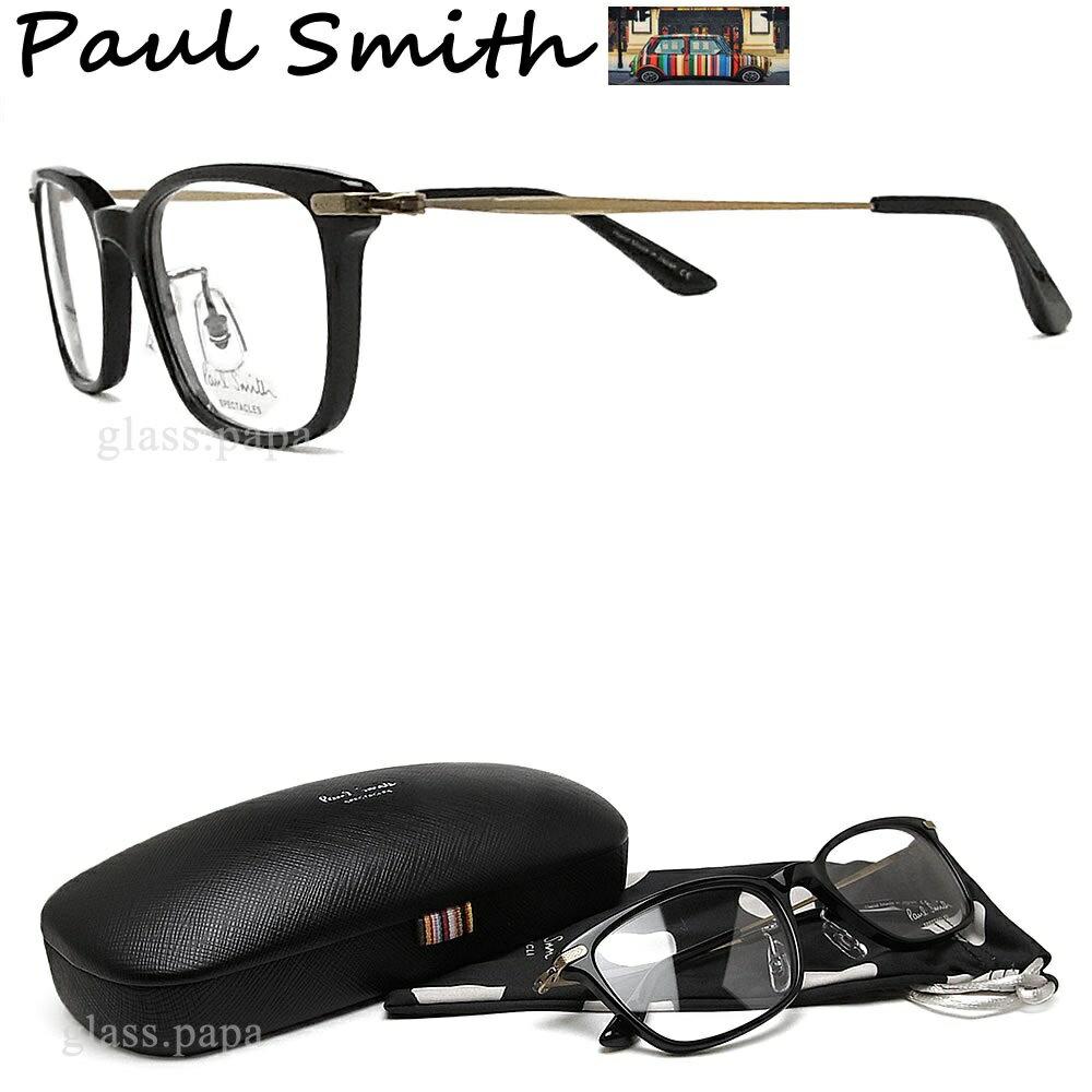 ポイント5倍! 9月26日1:59分まで クーポン配布 ポールスミス メガネ PAULSMITH PS9470 OXAG コンビ 眼鏡 伊達メガネ 度付き ブラック ユニセックス 日本製