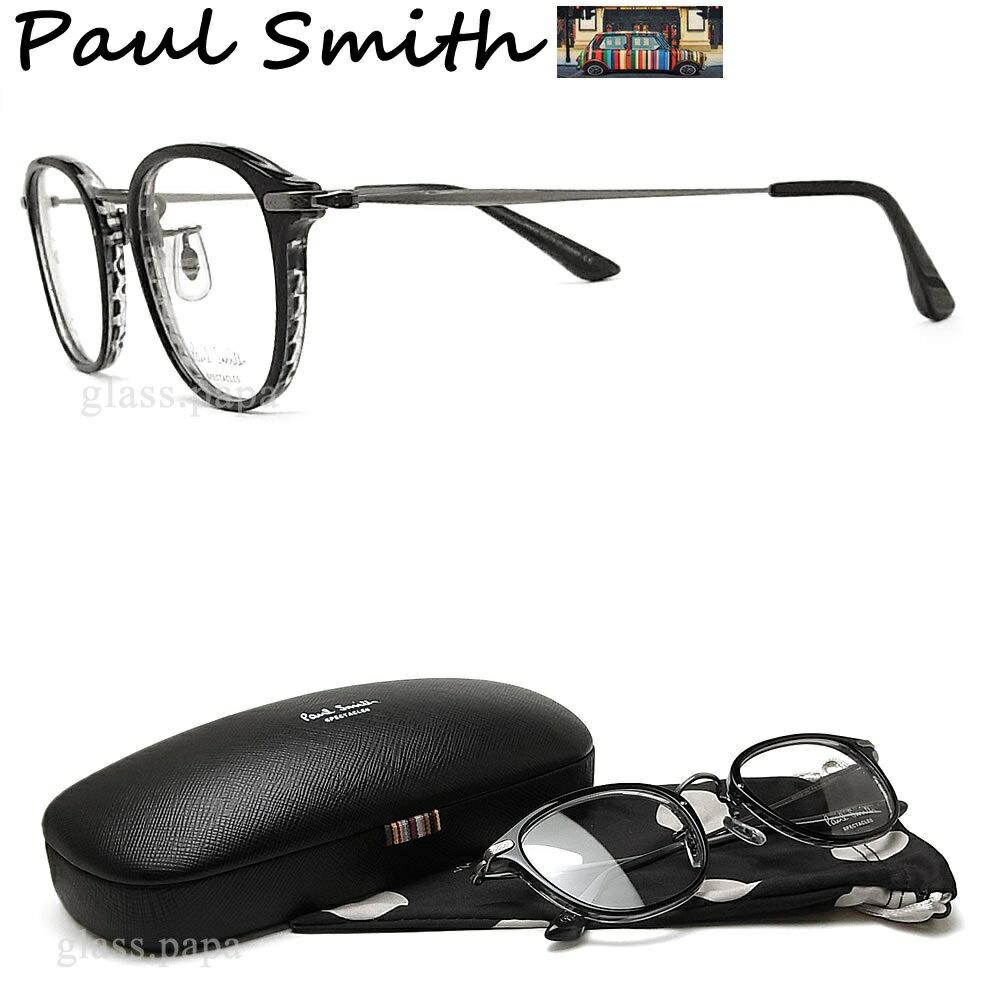 ポイント5倍! 7月24日9:59分まで ポールスミス メガネ PAULSMITH PS9479 OXGRB 眼鏡 伊達メガネ 度付き ブラック メンズ・レディース 日本製