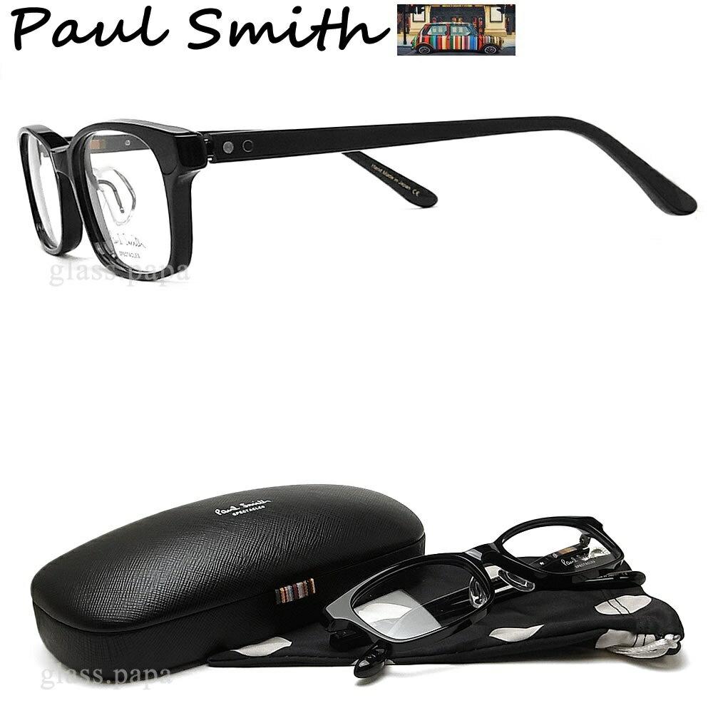 ポイント5倍! 7月24日9:59分まで ポールスミス メガネ PAULSMITH PS9481 OX 眼鏡 伊達メガネ 度付き ブラック メンズ・レディース 日本製