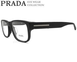 f89a86f8df0 Mat black men cell with the Prada glasses PRADA VPR23RF-1BO glasses brand  Date glasses degree