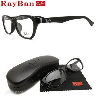 雷斑眼镜RayBan RB5295D-2000尺寸54眼镜名牌没镜片的眼镜度从属于的黑色人格子glasspapa