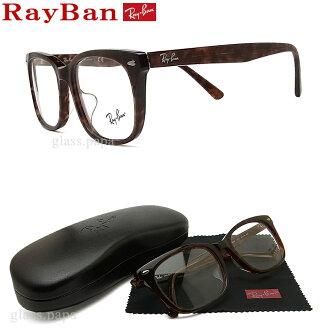 雷斑眼镜RayBan RB5305D-2372尺寸53眼镜名牌没镜片的眼镜度从属于的暗褐色人·女士格子glasspapa