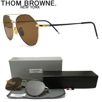 Tom Brown太阳眼镜TB-105-C-NVY-GLD古典黄金人glasspapa