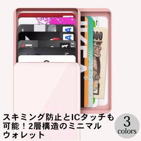 ZENLET2+ [クレジットカードケース カードケース スキミング防止 ICカード 2層 大容量 スマートウォレット][ZENLET / ゼンレット][送料無料]