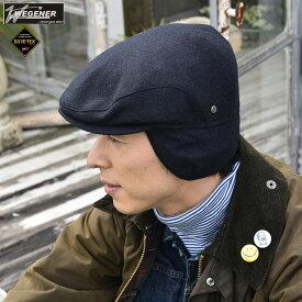 ゴアテックスイヤーマフハンチングキャップ[WEGENER] [帽子 耳あて] グレンフィールド