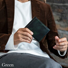 【Snobbist】ミュージアムカーフ二つ折り財布/ウォレット[スノビストメンズ財布メンズ財布スノビストグレンフィールド][名入れ無料][送料無料]