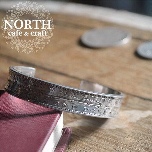 【送料無料】【NORTH cafe & craft(ノースカフェ&クラフト)】モーガンダラー/MORGAN DOLLAR ダブルバングル スリム N-057 グレンフィールド