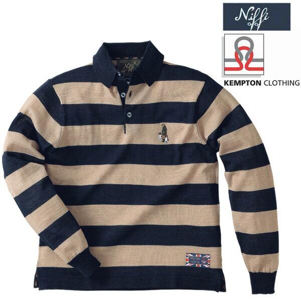 セール中!英国製ラグビーニットシャツ グレンフィールド