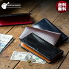 [name case for free] [BRITISH GREEN] double brei dollar leather long wallet / long label wallet (there is a coin purse) [boyfriend Shin pull cowhide birthday present male on an entering Father's Day giftwrapping gift name men wallet leather genuine leath