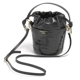 CHRISTIAN VILLA クリスチャンヴィラ クロコ バケツ ショルダーバッグ 2WAY 巾着バッグ レディース 4504 レギュラーサイズ