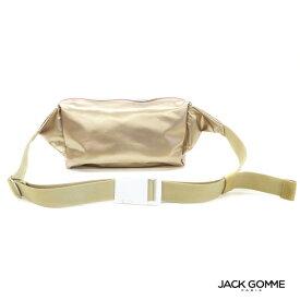 再入荷 Jack Gomme ジャックゴム BLOOM 1787/LIGHT BEIGE ボディバッグ ナイロン レディース フランス製 2021春夏