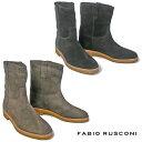 ファビオルスコーニ FABIO RUSCONI ショートブーツ 2242ウェスタンブーツ レディース ローヒール 歩きやすい ぺたんこ…