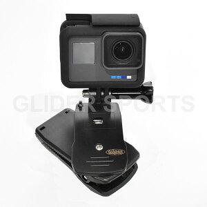 GoPro用マウント付クリップ