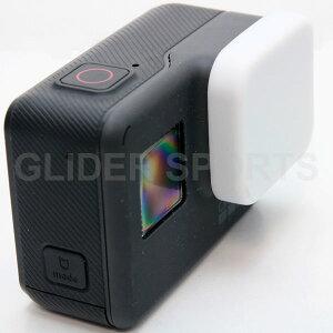 (HERO7Black/HERO6/HERO5 対応) シリコン レンズカバー 白 (go210) GoPro 用 アクセサリー ゴープロ 用 送料無料