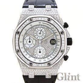オーデマピゲ(AUDEMARSPIGUET)ロイヤルオーク オフショア クロノグラフ 42mm ダイヤモンドモデル〔腕時計〕〔メンズ〕【中古】
