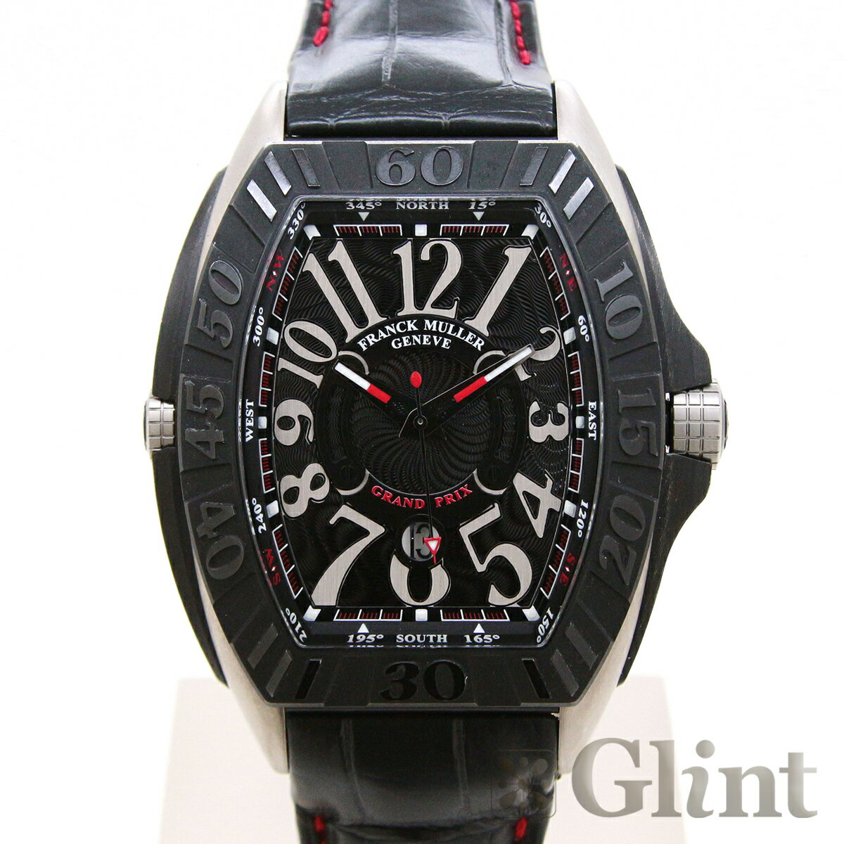 フランクミュラー(FRANCK MULLER)コンキスタドール グランプリ 9900 SC GP 〔チタン/PVD〕〔腕時計〕〔メンズ〕【中古】