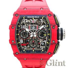 リシャールミル(RICHARD MILLE)RM11-03FQ オートマティック フライバッククロノグラフ レッドTPTクォーツ×カーボンTPT〔腕時計〕〔メンズ〕【中古】