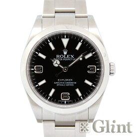 ロレックス(ROLEX)エクスプローラー 214270〔腕時計〕〔メンズ〕〔ブラックアウト〕〔2012年2月/ランダムシリアル〕