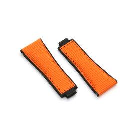 RUBBERB ロレックス デイトナ オイスターフレックスモデル専用ラバーベルト バリスティック【オレンジ】※時計、バックルは付属しません。