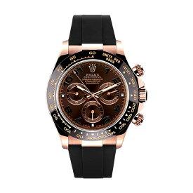 ラバーB【RUBBERB】ロレックス(ROLEX)デイトナ(DAYTONA)116515LN(革ストラップ)専用ラバーベルト【ブラック】※時計は付属しません