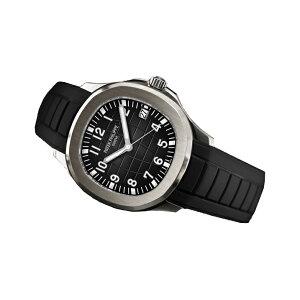 ラバーB【RUBBERB】パテックフィリップ アクアノート 5167専用ラバーベルト【ブラック】 ※時計、バックルは付属しません。