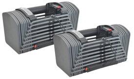 在庫あり 可変式ダンベル 24段階アジャストブル パワー  ブロックダンベルセット26Kg×2両腕分計52Kg 2個SET ダンベル可変式 トレーニング エクササイズ