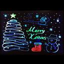 送料無料 LED ライティングボード led イルミネーション 手書きled 看板 メニューボード ブラックボード クリスマス …