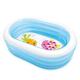 ビニールプール 子供用 小さい プール ベランダプール 透明リング 家庭用プール