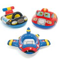 浮き輪子供足入れベビーフロート飛行機浮輪パトカーうきわ消防車浮輪赤ちゃんフロート