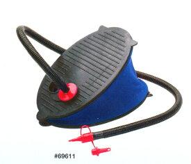 プール ビニールプール ダブルアクション フットポンプ 29センチ 空気入れ 浮き輪 エアーマット エア遊具