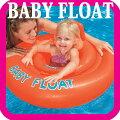 浮き輪子供足入れベビーフロート76センチ15キロ赤ちゃんうきわ