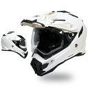 【ポイント7倍 5/31まで】★送料無料★【THH】 開閉式インナーサンバイザー採用 オフロード ヘルメット TX-27 パール…