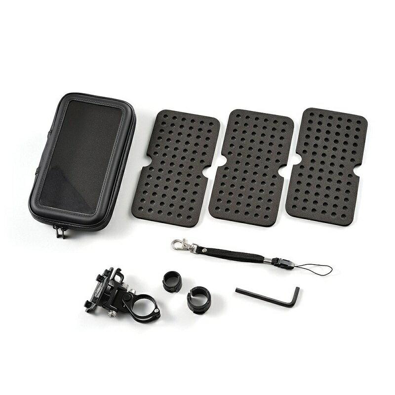 【デイトナ(DAYTONA)】 バイク用スマートフォンケース XLサイズ リジットタイプ 360度回転 防塵/防滴 スマホホルダー 【iPhone7/6s/6 Plus収納可※7/6s/6もOK】